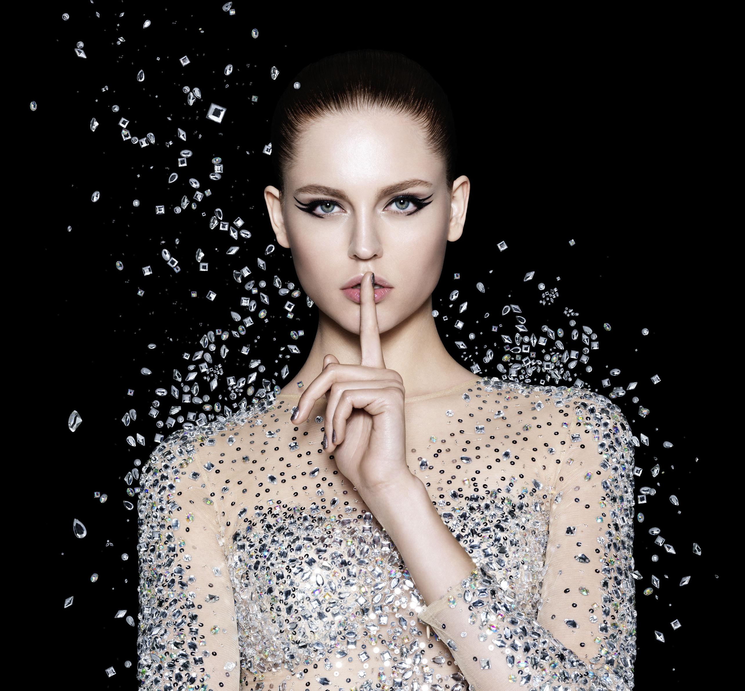 diamonds beauty makeup couture jewelery Diamanten Schmuck Kleid